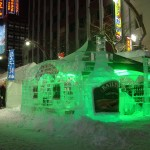 The Baileys Ice Bar at the Susukino site.